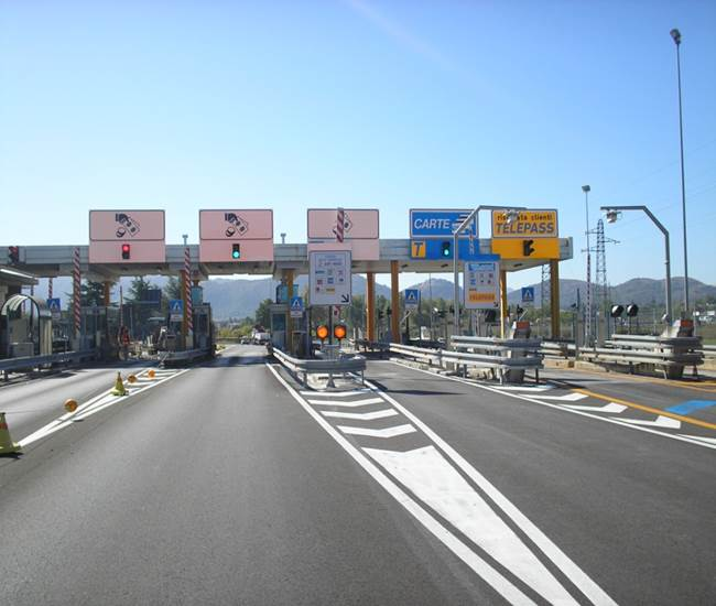 Pagamento telepass autostradale
