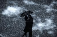 Innamorati sotto la pioggia
