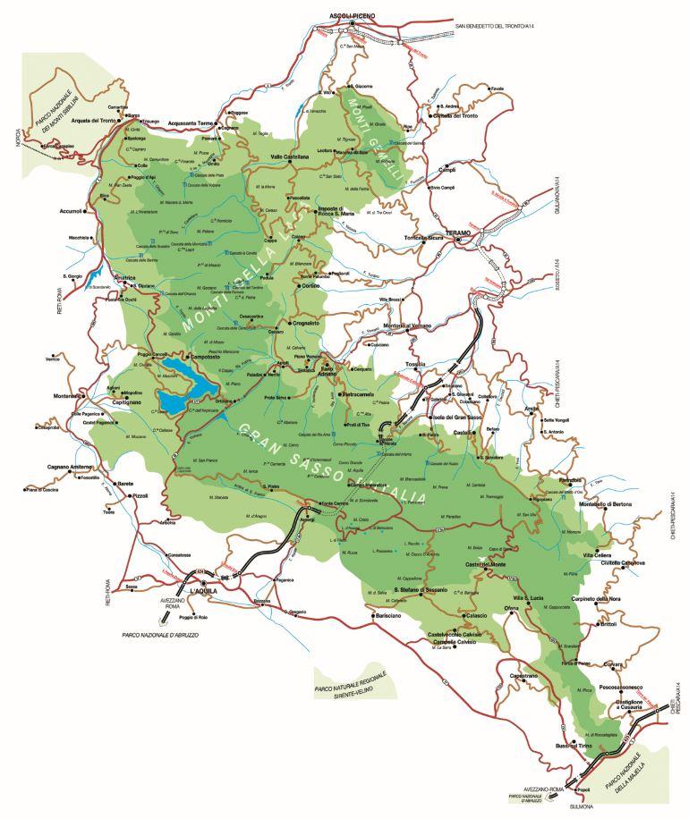 Cartina Ippovia 2