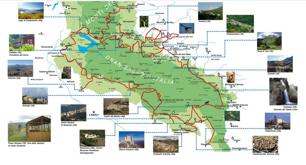 Cartina ippovia