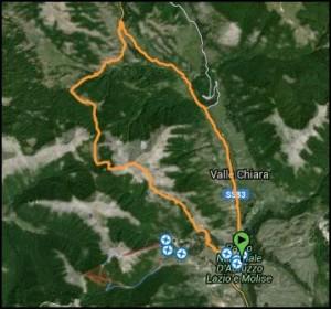 Monte valle delle Caprare - Discesa a Pescasseroli