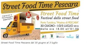Street Food Time al Porto Turistico di Pescara