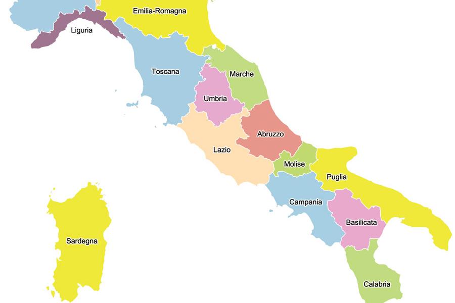 Cartina italia politica strada dei parchi for Politica italiana wikipedia