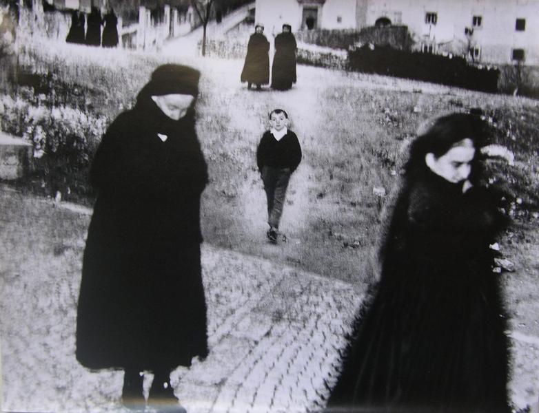 Il bambino di Scanno, 1957, Mario Giacomelli