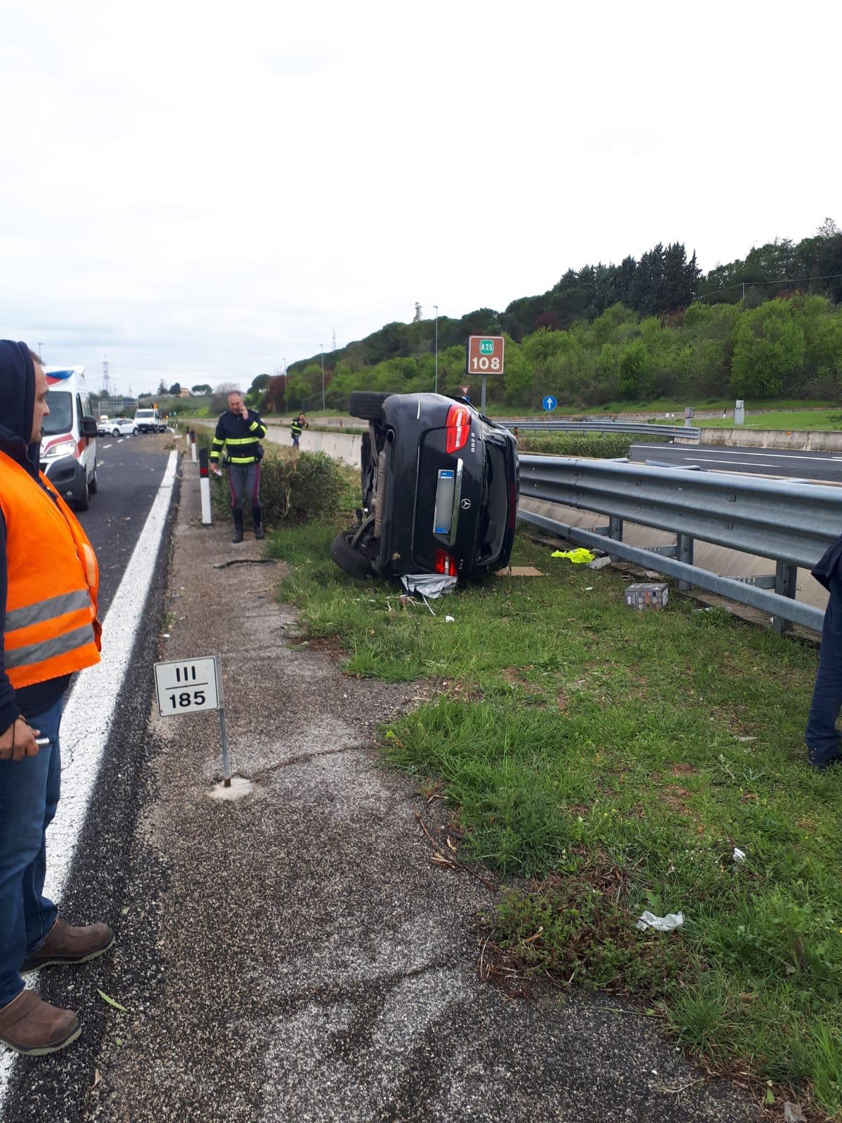 A25: incidente mortale tra Villanova e il bivio A14